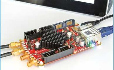 Figure 1: The Red Pitaya module is very compact.
