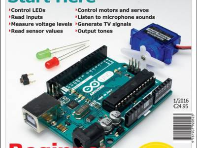 NEW: 60-page Arduino Special including Arduino Uno for only €24.95