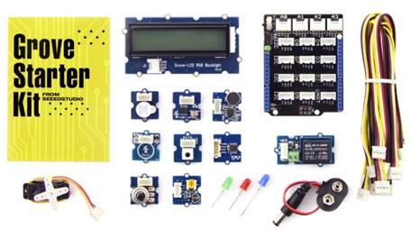 Review: Grove starter kit for Arduino