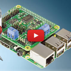 Versatile I/O HAT with PWM & ADC for your Raspberry Pi