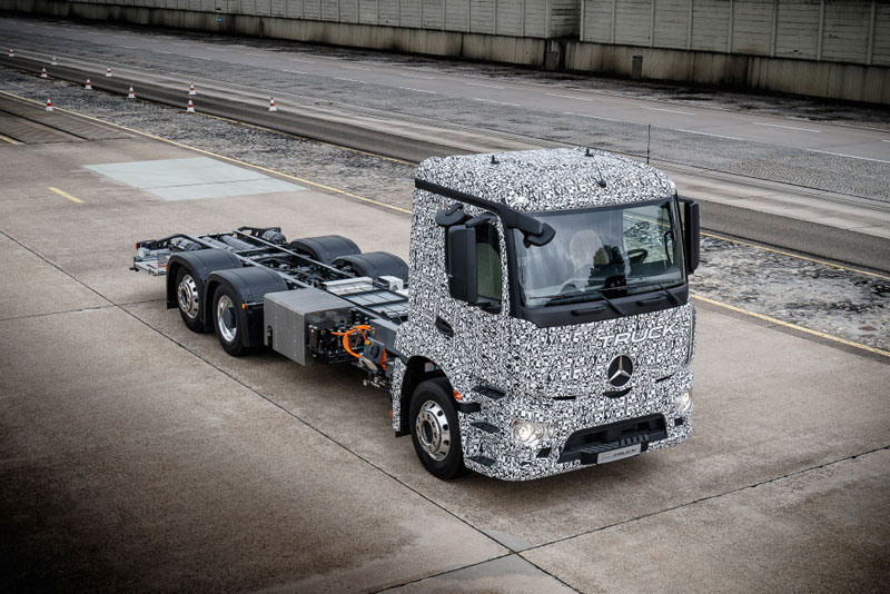 Urban eTruck from Mercedes