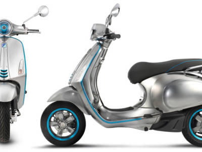 Vespa turns electric