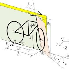 Self-balancing bicycle rides itself