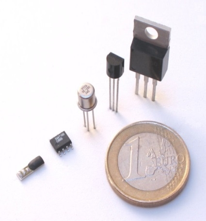 The Smartec temperature sensor is available in different packages.