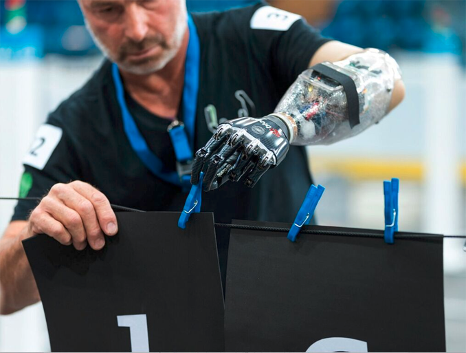 Bionic Prostheses will have their Olympic Games