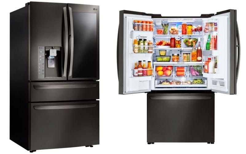 LG Instaview smart fridge @ CES 2017