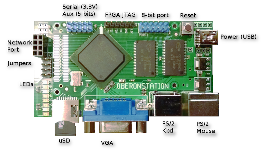 OberonStation was designed specifically to run Oberon RISC.