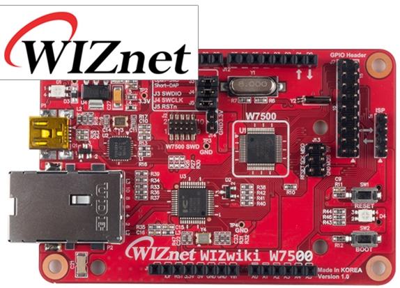 Review - WIZnet WIZwiki-W7500