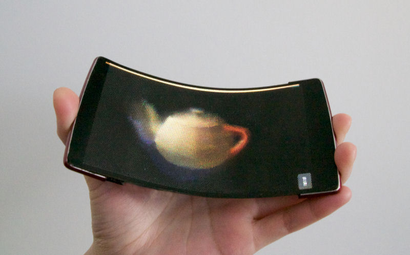 Holoflex - The first holographic flexible smartphone