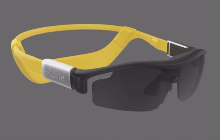 Sports glasses integrate bone conduction audio