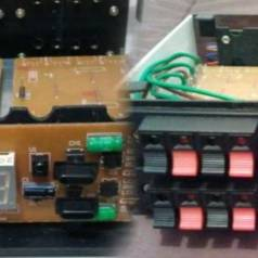 Build an electronic speaker switch box (with remote control)