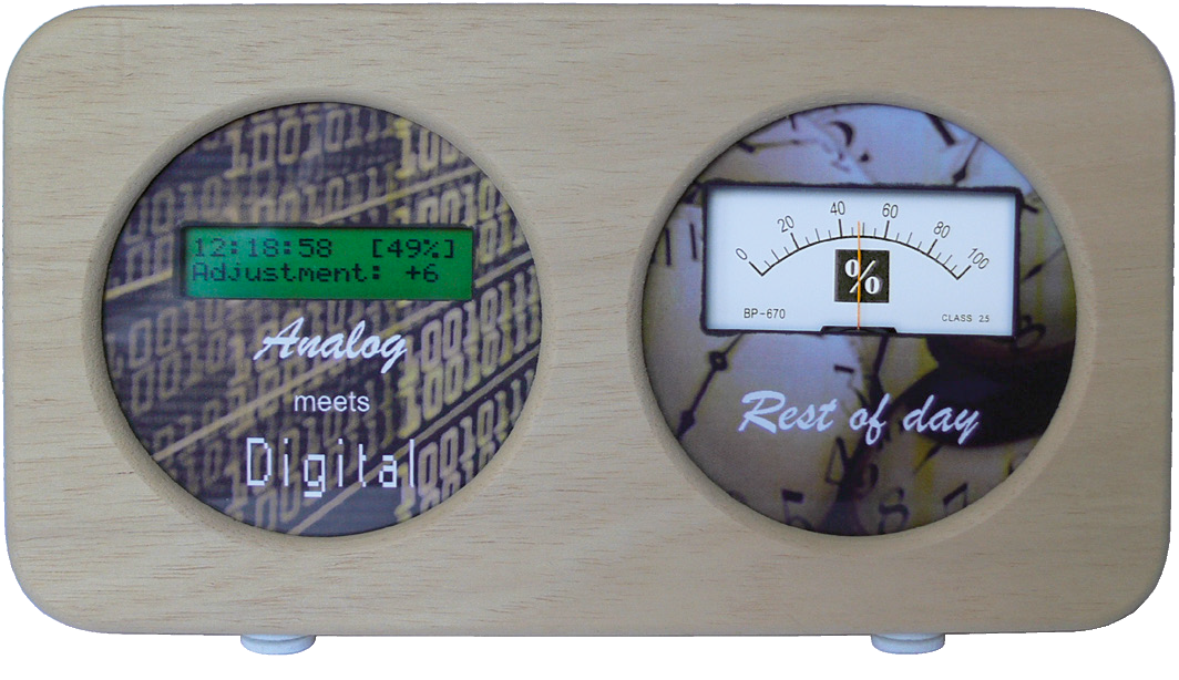 Post project 42: What-Remainsof- the-Day Clock