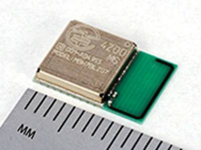 The module includes an ARM Cortex M0 CPU