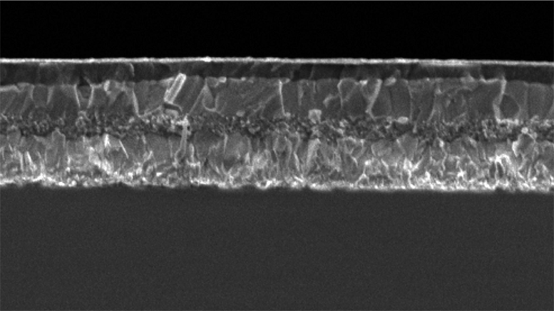 21.1 % efficiency with Perovskite solar cells