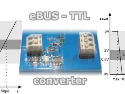 eBus converter for smart home with RPi and Openhab