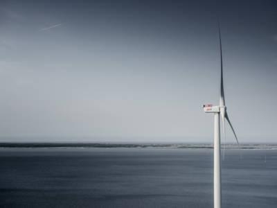 Record: 9-megawatt wind turbine. Image credit: MHI Vestas Offshore Wind