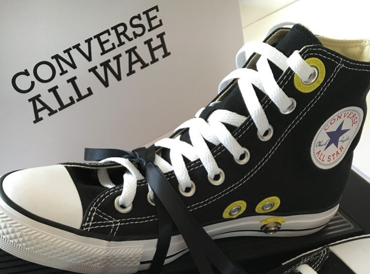 Far out! Wah-wah in Converse sneakers
