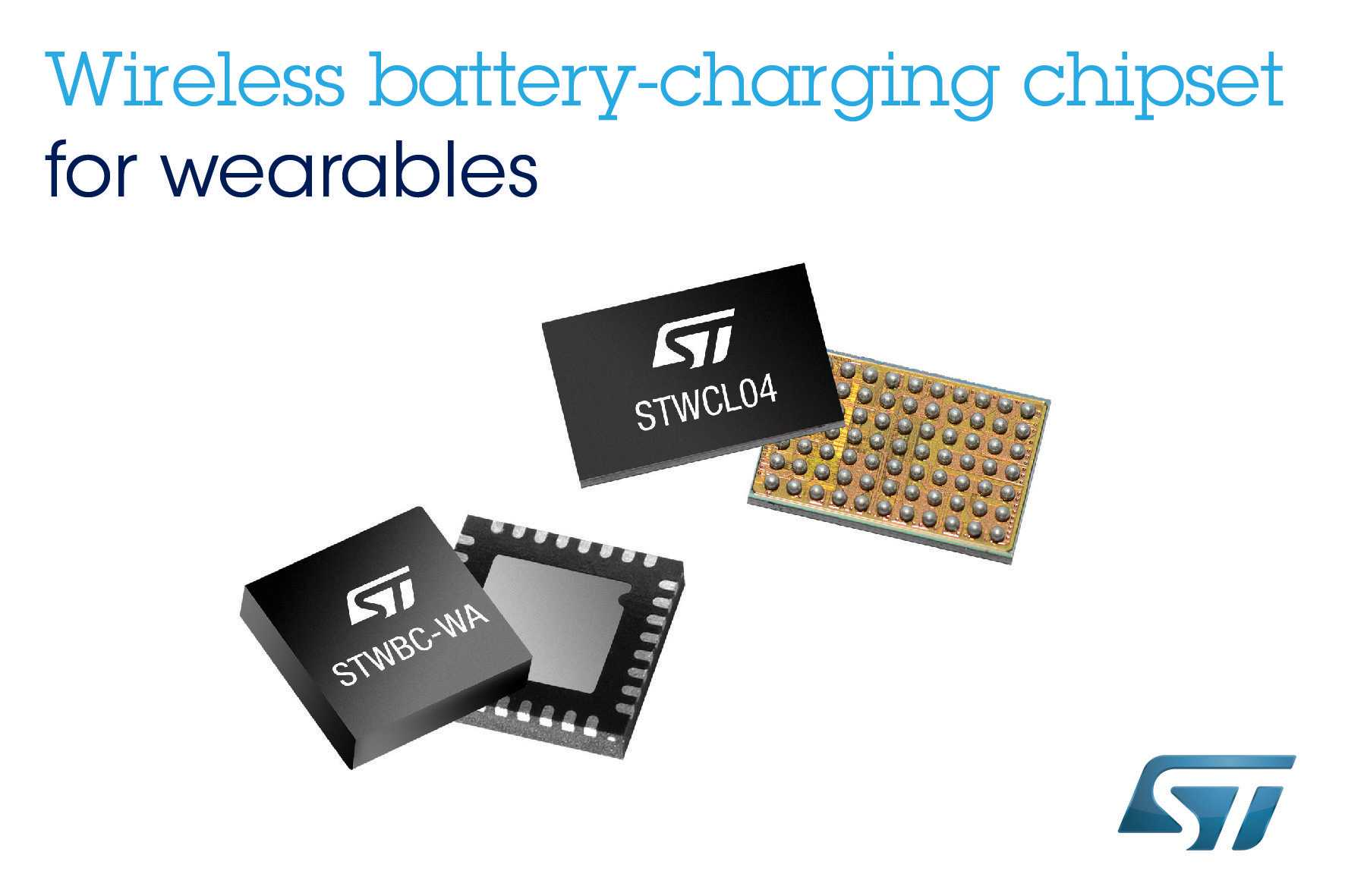 The fully-featured chipset supports wireless-charging for Li-ion or Li-polymer battery chemistries and includes safety mechanisms such as Foreign-Object Detection (FOD), active transmitter-presence detection, and receiver thermal protection.