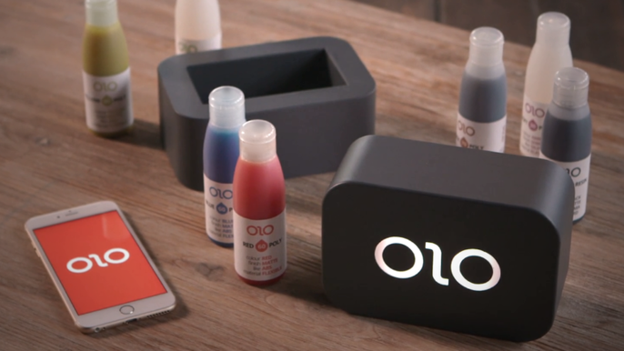 A smartphone 3D printer for $99