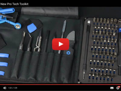 review ifixit pro tech toolkit. Black Bedroom Furniture Sets. Home Design Ideas