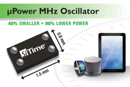 A tiny MHz Oscillator with excellent stability