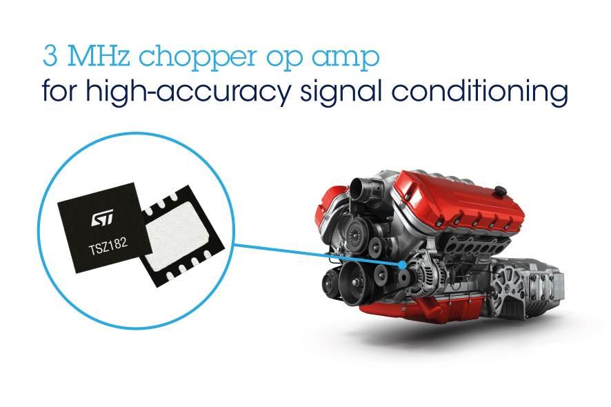 Chopper op-amp has excellent speed/power consumption ratio
