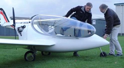 Hybrid Airplane Engine
