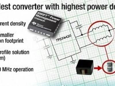 Ultra-small 10 A converter