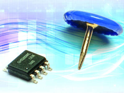 Isolated current measurement using an ASIC in SO8 package