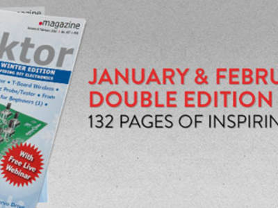 Elektor January & February Double Issue Released in Print and Digital