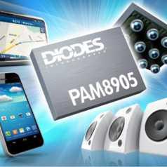 PAM8905 audio amp