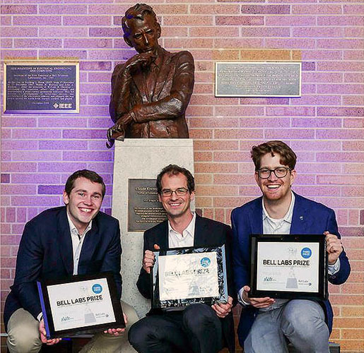 The Bell Labs prize winners