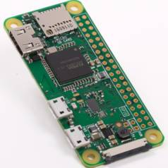 New €10 Raspberry Pi (Zero W) with WLAN and Bluetooth