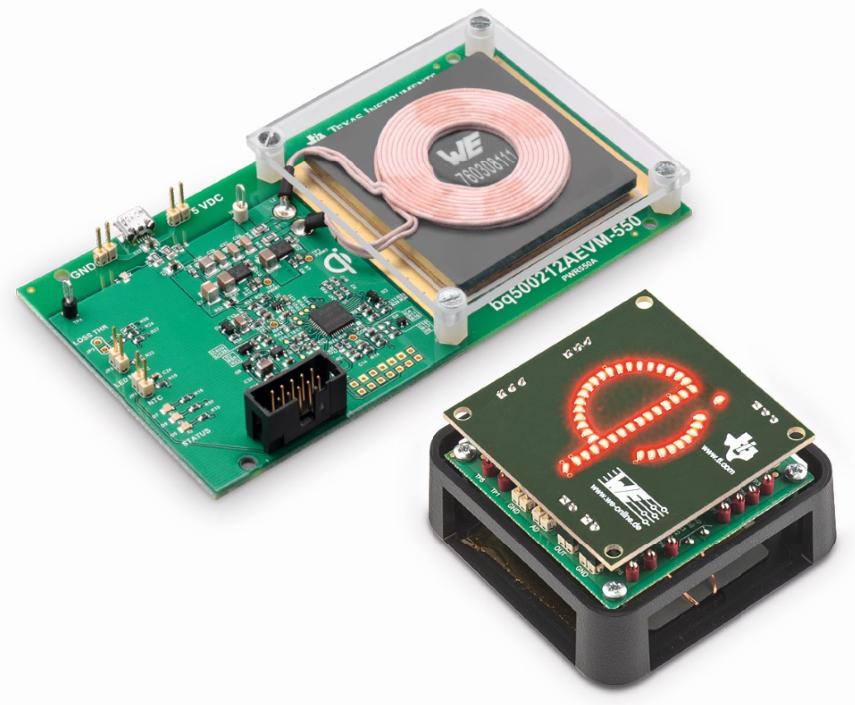 Würth Elektronik transmitter module, receiver, and LED module