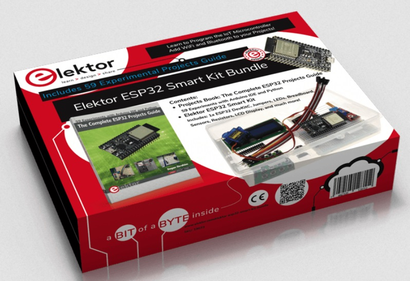 Smart kitt the ESP32 microcontroller