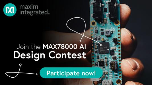 MAX78000 AI Design Contest