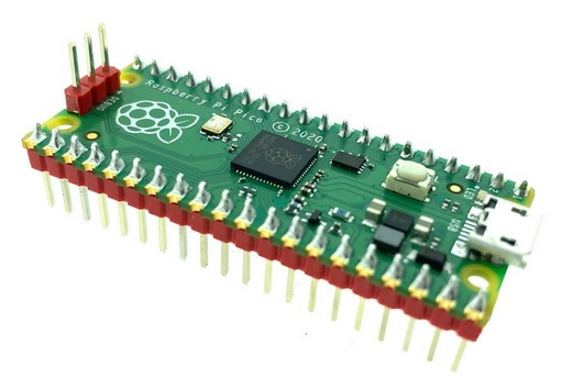 Raspberry Pi Pico with pin header