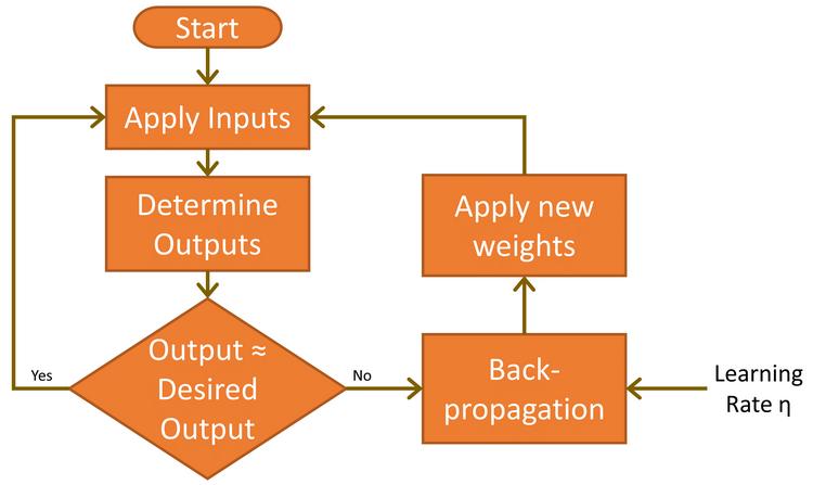 MLP function as flow diagram.