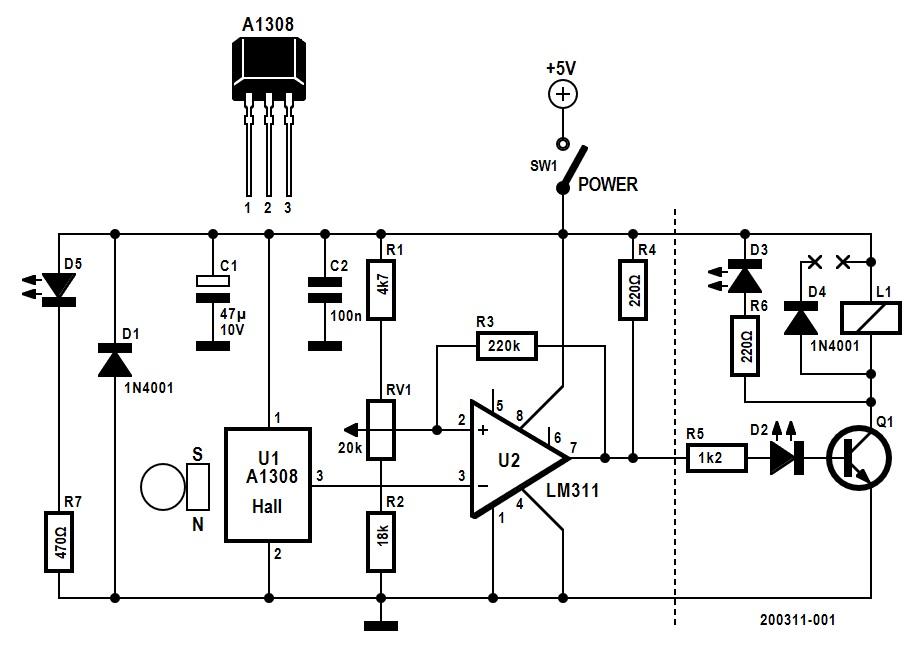Magnetic levitation schematic