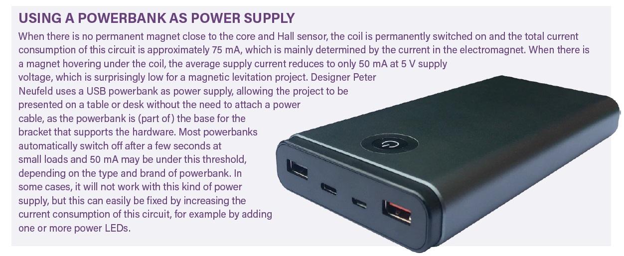 Powerbank power supply