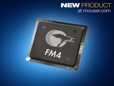Mouser Now Stocking Cypress FM4 S6E2G-Series MCUs, Designed for Industry 4.0 and IoT Devices