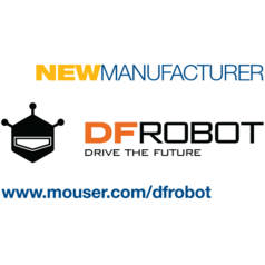 Mouser Boosts Open Source Lineup with DFRobot, Globally Distributes Plug-and-Play Sensors Series