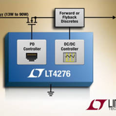 PD controllers handle up to 90W
