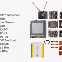 The RePhone Core board and Add-ons