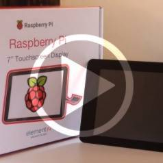 Elektor.TV: Raspberry PI touchscreen