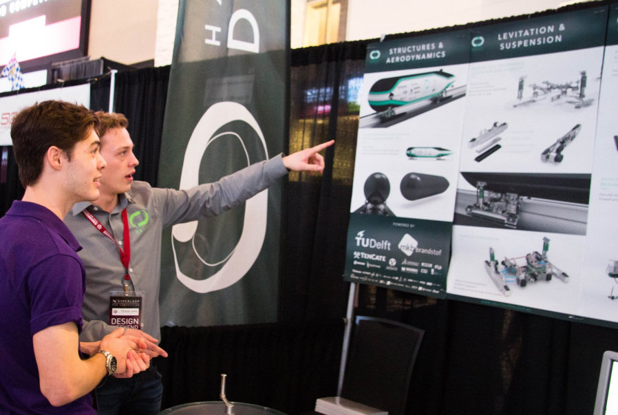 Student team from Delft came second in Hyperloop design competition