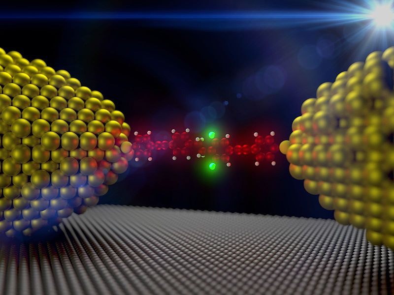 Single-molecule diode sets new record