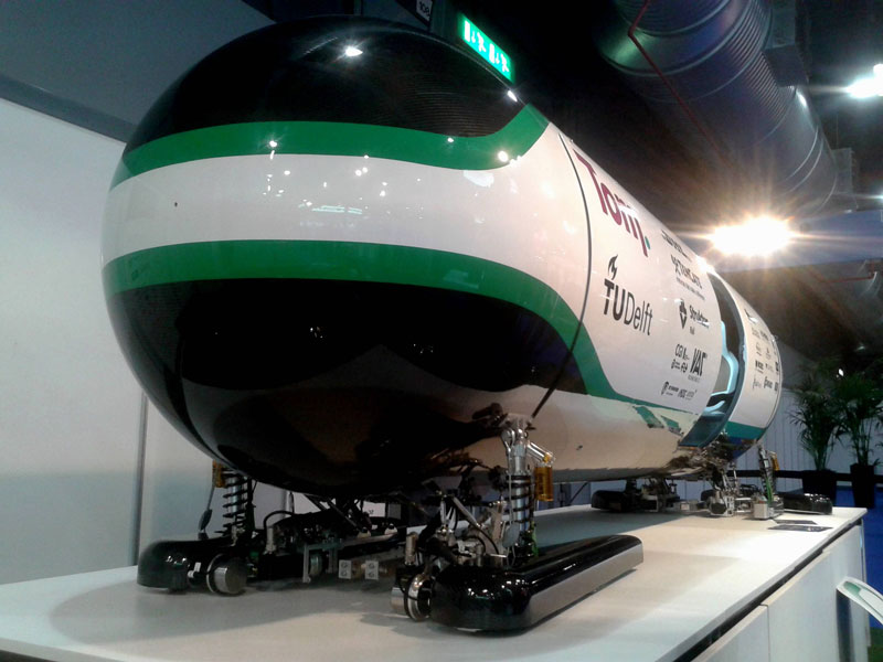 Hyperloop Pod competition has been won by TU Delft, Holland