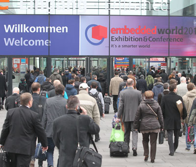Elektor at The Embedded World - see you next week!