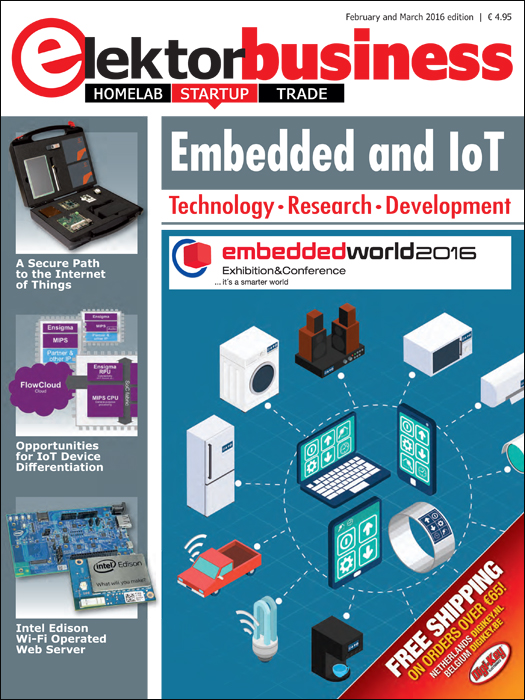 Out and About: Elektor Business Magazine Embedded and IoT